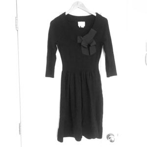 Kate Spade sweater dress with bow
